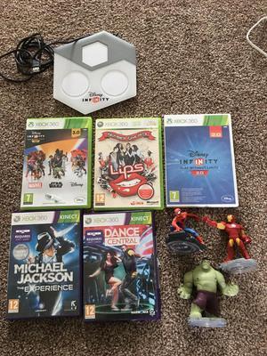 Xbox 360 games x5 Disney infinity