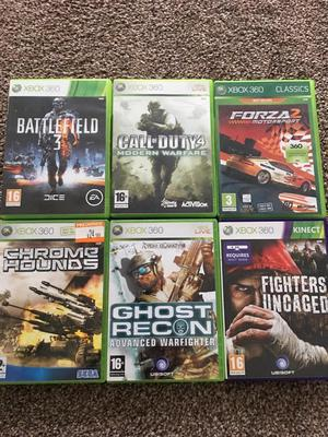 Xbox 360 games x6