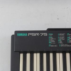 Yamaha PSR-75 Electronic Keyboard 49 Key Tested - Charger Mi