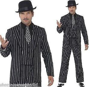 pinstripe suit great for gngster / addams family gomez or jack skellington size L / XL