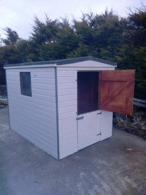 8x6 tongue and groove shed in good condition can deliver and erect Co down