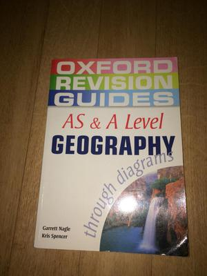 A level geography book