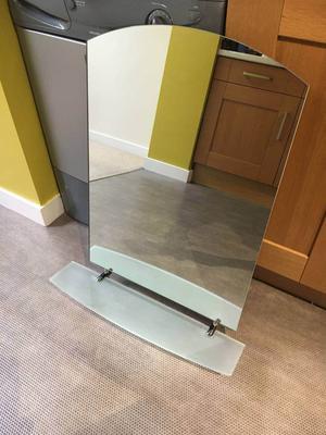 Bathroom mirror & cabinet (Habitat)