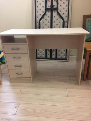 Computer table, matching chest of drawers and coffee table