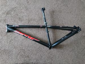 DMR Exalt mountain bike frame 12.5 inch with Azonic seat post