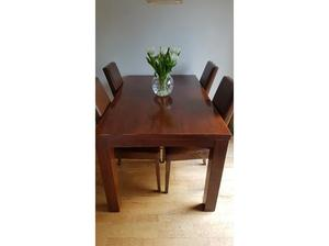 Dakota Solid mango wood dining table in Didcot