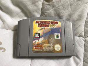 Destruction Derby 64 on the N64