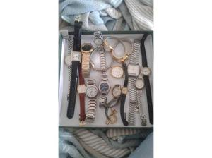 Job lot of watches in Honiton
