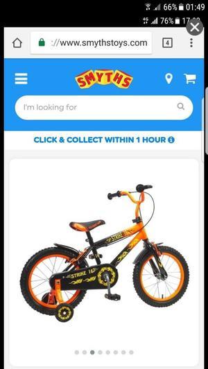Kids bike 16inch