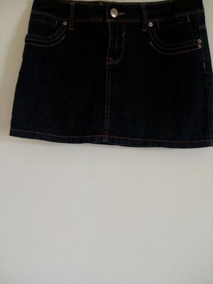 New Item! Ladies Dark Blue Denim Mini Skirt.
