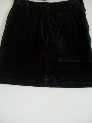 New Item!Ladies Black Velvet Mini skirt.