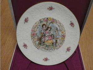 Royal Doulton Valentine's Day  Collectors Plate in