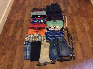 Gigantic bundle of boys clothes age 3-4 years