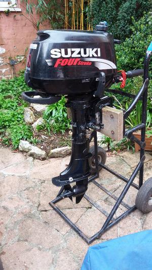 Suzuki 4hp 4 stroke outboard engine,