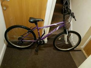 Apollo mountain bike with 26 inch wheel size