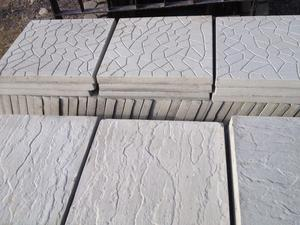 "Brand new patio slabs 18"" x 18"" can deliver for small fee"
