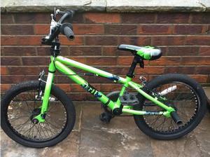 Childs 16 inch Schwin bike with stuntpegs in Dewsbury