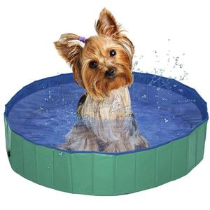 Foldable Multifunctiona l Dog Cat Paddling Swimming Pool PVC