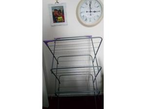 Large clothes horse calappsibal. Wen not in use in Cardiff