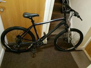 Marin Mountain bike with hydraulic brakes