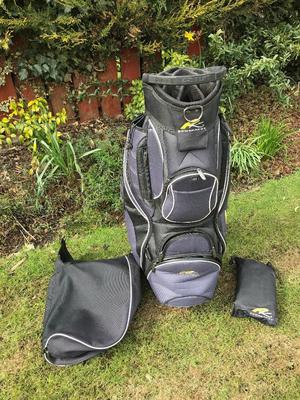 Powakaddy Golf Bag complete with hood Good condition