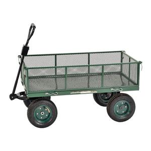 "Sandusky Heavy Duty Steel Jumbo Crate Wagon - 48"" x 24"" New"