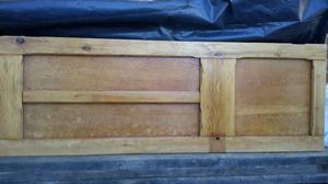 Stripped pine interior door s style