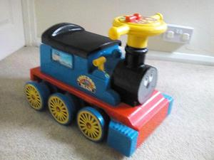 Toy Ride On train and track