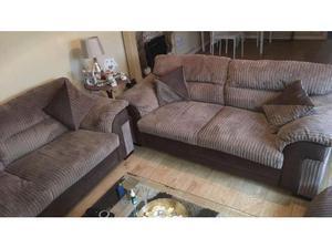 3 & 2 seater sofa in Tredegar