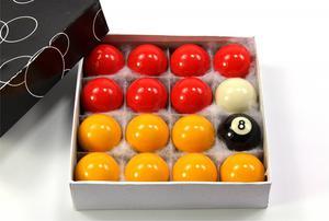 44mm Medium Size Pool Red Yellow White Black Ball Set – 1