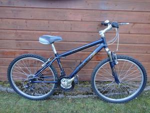 Aleoca Aureola Bike 26 inch wheels, 21 gears, 16 inch aluminium frame, front suspension