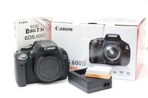 Canon EOS 600D DSLR Digital SLR Camera Body - Boxed