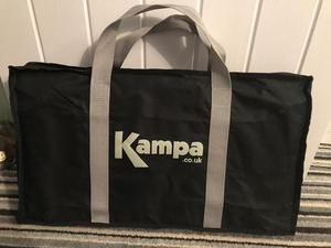 Kampa Double Burner Gas Cooker With Grill And Holdall Bag