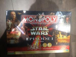 Monopoly Star Wars Episode I Collectors Edition