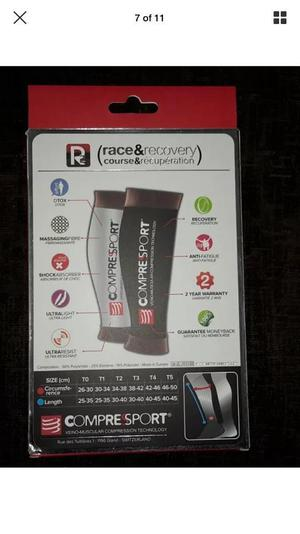 R2 compression calf guards.