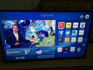 "Digihome 50"" Smart Full HD LED TV with Built-in WiFi and Freeview HD p"