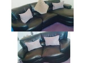 Leather settees in Bradford