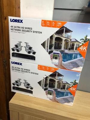 Lorex 4K ultra Hd wired network security system 2TB security Grade Hard Drive 30 days co