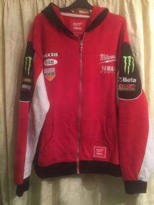 Moto GP hoodie team Yamaha