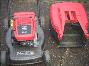 Mountfield Petrol Mower in Swansea