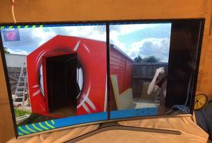 "Samsung UE48JAK Curved 48"" SMART TV BROKEN SCREEN For"