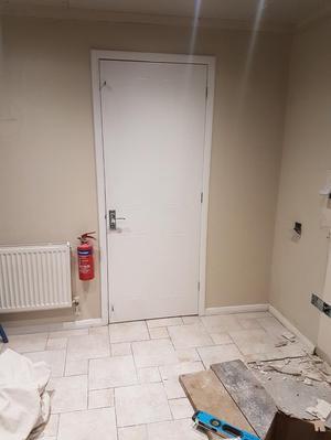 White interior doors x 8