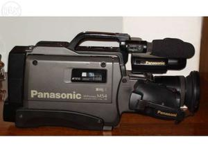 hardly used excellent condition PANASONIC NV-MS4 SUPER VHS VIDEO CAMERA WITH CASE