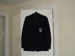 GLASGOW ACADEMY SCHOOL BLAZER. Male size 42ins chest
