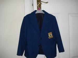 GLASGOW HIGH SCHOOL BLAZER Junior Boy size 30 ins chest
