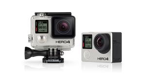 GoPro Hero 4 Black in mint condition with all the accessories, box and Saramonic microphone