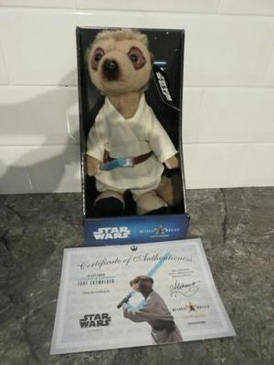 Meerkat Aleksandr as Luke Skywalker Star Wars Limited Editio