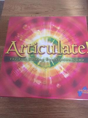 Articulate Board Game, Brand New