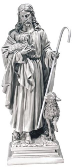 Design Toscano Jesus, The Good Shepherd Garden Statue -