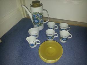 J g meakin s original coffee set